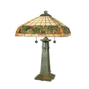 Dale Tiffany TT60273 Portland Mission Table Lamp, Antique