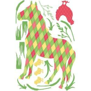 Brewster WPZ93885 Wall Pops Addison the Horse from