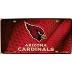 AZ Arizona Cardinals NFL Football License Plate Plates Tags Tag auto
