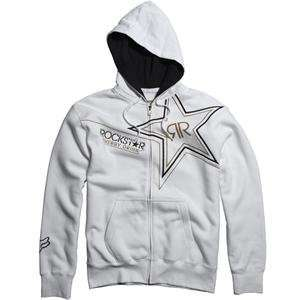 Fox Racing Rockstar Golden Fleece Zip Up Hoody   2X Large