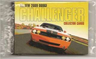 NIP 2009 Dodge Challenger Collector Cards PGH Car Show New 09 Trading