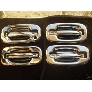 Mirror Polish Chrome Door Handle Cover   Chevy Suburban 00