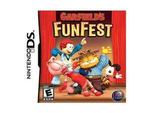 Garfield Fun Fest Nintendo DS Game ZOO