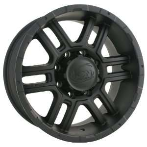 Ion Alloy 179 Matte Black Wheel (17x8/5x127mm