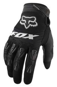Fox Racing YOUTH Dirtpaw Gloves Black YOUTH Size XS (4) S (5) M (6) L
