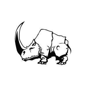 Rhinoceros Heavy Metal   Animal Decal Vinyl Car Wall